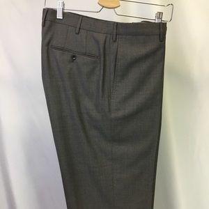 Incotex Classic Fit Patter B Brown Blue Pant - 36
